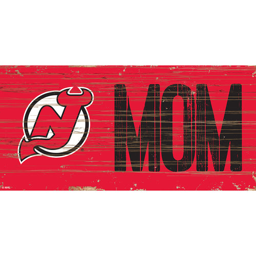 New Jersey Devils MOM 6x12 Sign