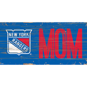 New York Rangers MOM 6x12 Sign