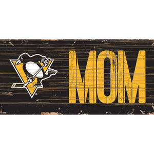 Pittsburgh Penguins MOM 6x12 Sign