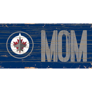 Winnipeg Jets MOM 6x12 Sign