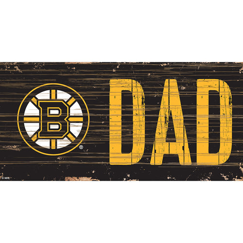 Boston Bruins DAD 6x12 Sign