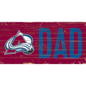Colorado Avalanche DAD 6x12 Sign