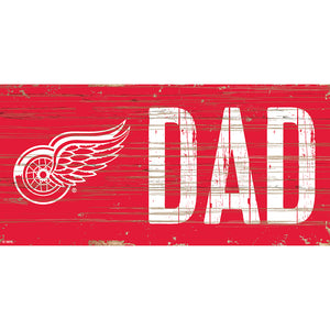Detroit Red Wings DAD 6x12 Sign