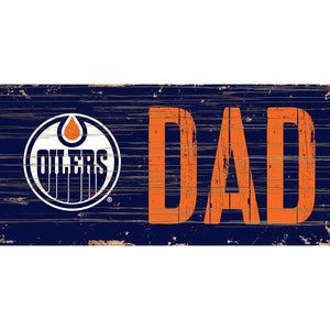 Edmonton Oilers DAD 6x12 Sign