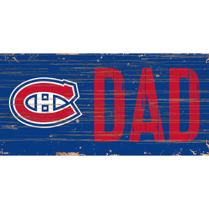 Montreal Canadiens DAD 6x12 Sign