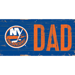 New York Islanders DAD 6x12 Sign