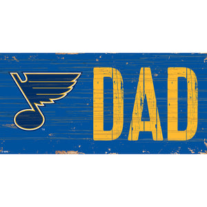 St. Louis Blues DAD 6x12 Sign