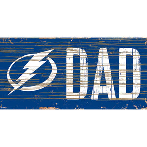 Tampa Bay Lightning DAD 6x12 Sign