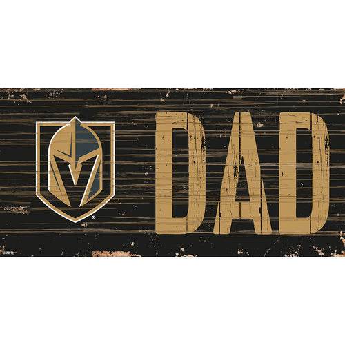 Vegas Golden Knights DAD 6x12 Sign
