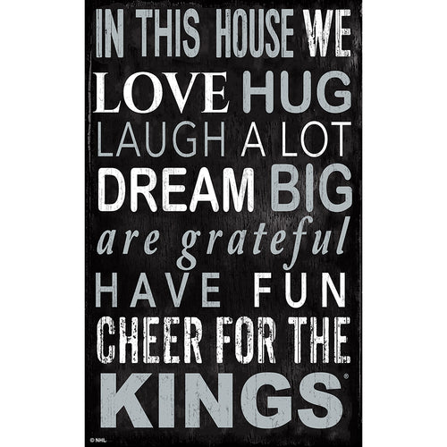 Los Angeles Kings In This House 11x19 Sign