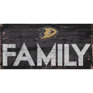 Anaheim Ducks Family 6x12