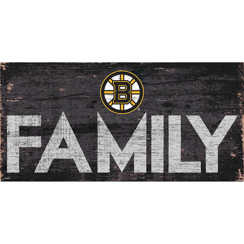 Boston Bruins Family 6x12
