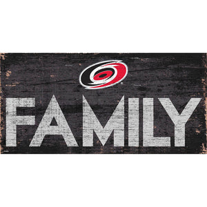 Carolina Hurricanes Family 6x12