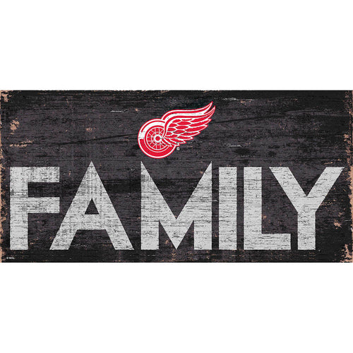 Detroit Red Wings Family 6x12