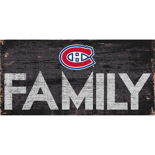 Montreal Canadiens Family 6x12