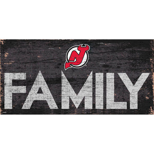 New Jersey Devils Family 6x12