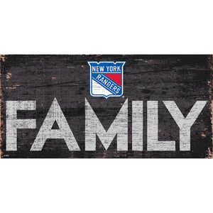 New York Rangers Family 6x12