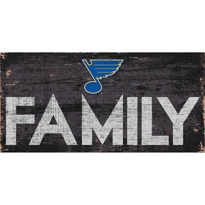 St. Louis Blues Family 6x12