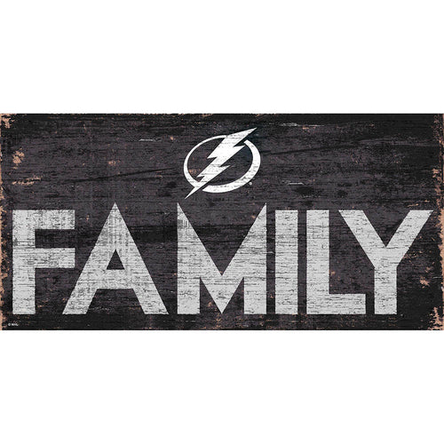 Tampa Bay Lightning Family 6x12
