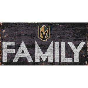 Vegas Golden Knights Family 6x12