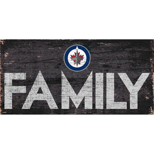 Winnipeg Jets Family 6x12