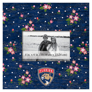 Florida Panthers Floral 10x10 Frame