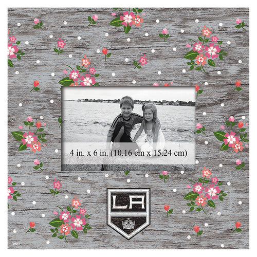 Los Angeles Kings Floral 10x10 Frame