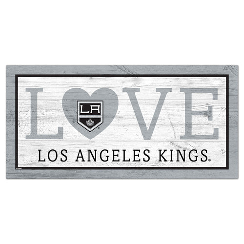 Los Angeles Kings Love 6x12 Sign
