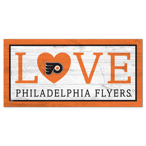 Philadelphia Flyers Love 6x12 Sign