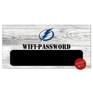 Tampa Bay Lightning Wifi Password 6x12 Sign