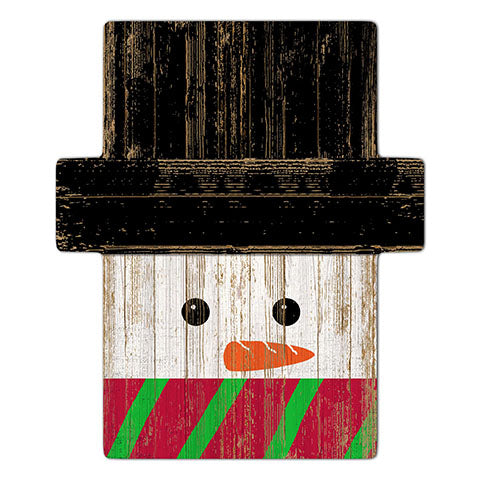 Snowman Holiday Head