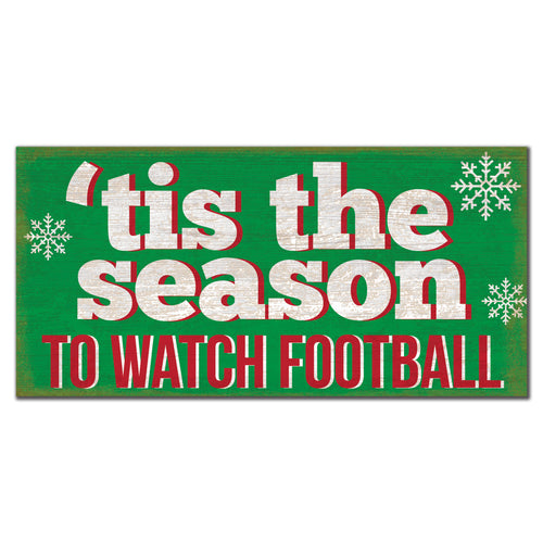 'Tis the Season to Watch Football 6x12