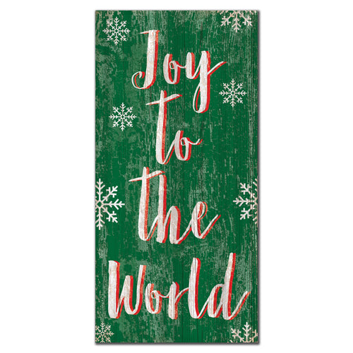 Joy to the World 6x12