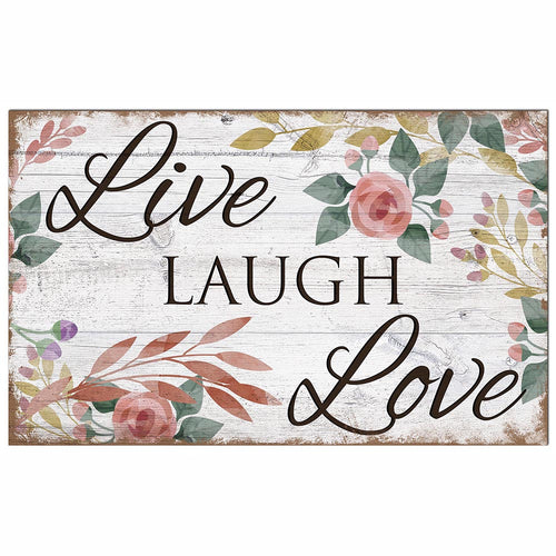Live Laugh Love 11x19