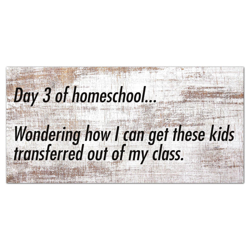 Day 3 of homeschool 6x12