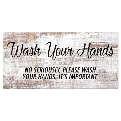 Wash Your Hands 6x12