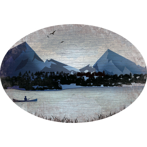 Lake Art 46in Oval