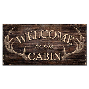 Welcome to the Cabin 6x12