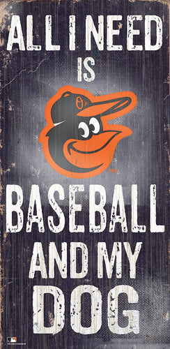 Baltimore Orioles Baseball and My Dog Sign
