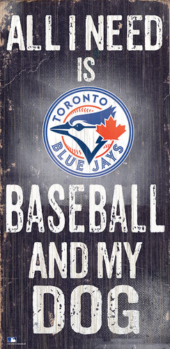 Toronto Blue Jays Baseball and My Dog Sign