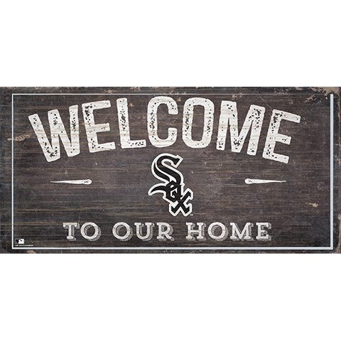 Chicago White Sox Welcome Distressed Sign
