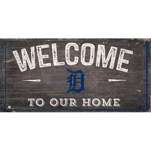 Detroit Tigers Welcome Distressed Sign