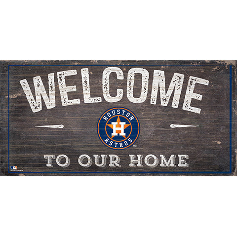 Houston Astros Welcome Distressed Sign