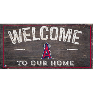 Los Angeles Angels  Welcome Distressed Sign