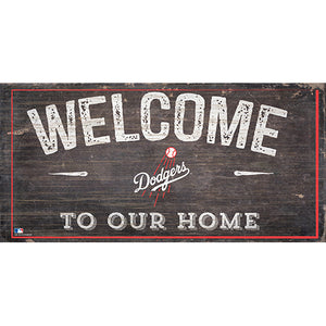 Los Angeles Dodgers Welcome Distressed Sign