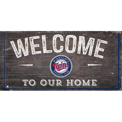 Minnesota Twins Welcome Home Sign