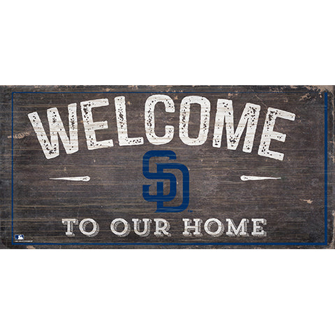San Diego Padres Welcome Distressed Sign