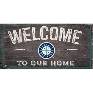 Seattle Mariners Welcome Distressed Sign