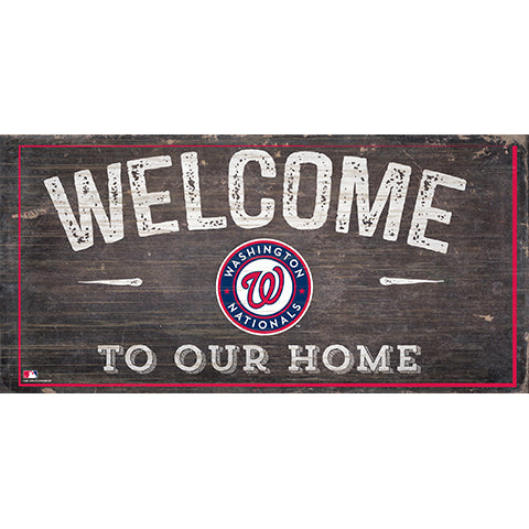 Washington Nationals Welcome Distressed Sign