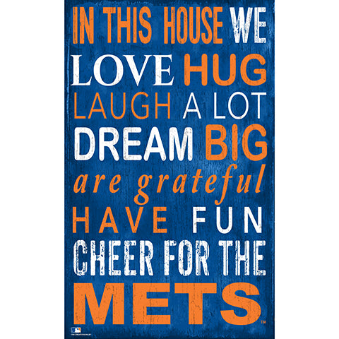 New York Mets In This House Sign